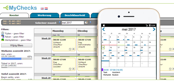 personeelsplanning software horeca